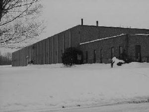 Fargo Machine Company Facility During Ohio Winter