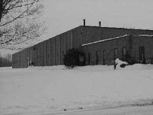Fargo Machine Company Facility During Ohio Winter
