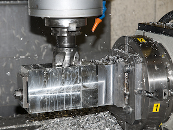 Machining Steel into a Product